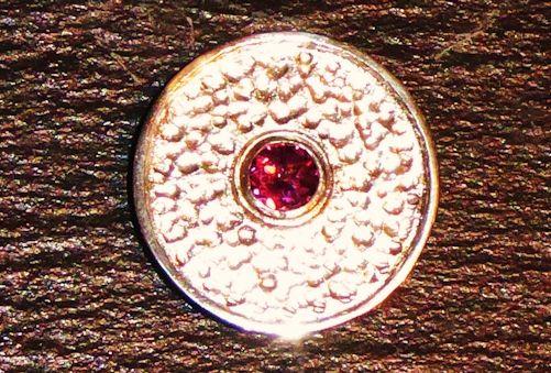 Trauben-Topas Silberanhänger